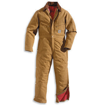 Carhartt Big & Tall Duck Quilt-Lined Coverall