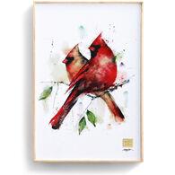 Big Sky Carvers Cardinal Pair Wall Art