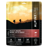 AlpineAire Rice & Bean Bowl w/ Beef Gluten Free Meal - 2 Servings