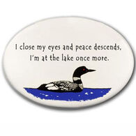 August Ceramics Close My Eyes Magnet
