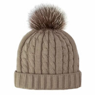 Mitchies Matchings Women's Cable Knit Beanie
