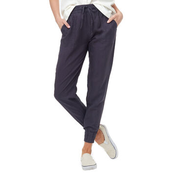 tentree Womens Linen Thruline Pant