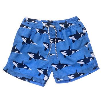 Snapper Rock Swimwear Boys Orca Ocean Volley Board Short