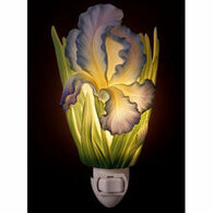 Ibis & Orchid Design Blue Bearded Iris Nightlight