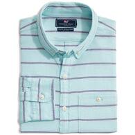 Vineyard Vines Men's Slim Fit Singer Island Longshore Button-Down Long-Sleeve Shirt