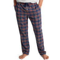 Southern Tide Men's Tidings Plaid Lounge Pant