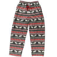 Lazy One Men's Moose Fair Isle Pajama Pant