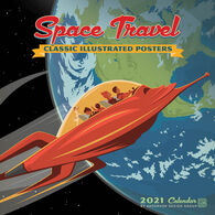 Space Travel 2021 Wall Calendar by Anderson Design Group