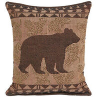 """Paine Products 7"""" x 9""""  Small Bear Tapestry Balsam Pillow"""
