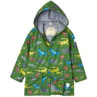 Hatley Toddler Boy's Aquatic Reptiles Raincoat