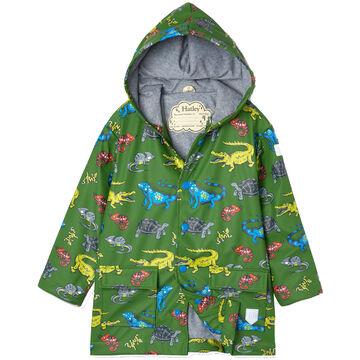 Hatley Toddler Boys Aquatic Reptiles Raincoat