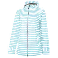 Charles River Apparel Women's New Englander Printed Rain Jacket