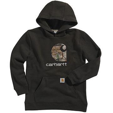 Carhartt Boys Big C Camo Hooded Sweatshirt