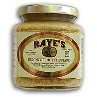 Raye's Dundicott Hott Mustard - 9 oz.