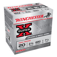 "Winchester Super-X High Brass 20 GA 2-3/4"" 1 oz. #7-1/2 Shotshell Ammo (25)"