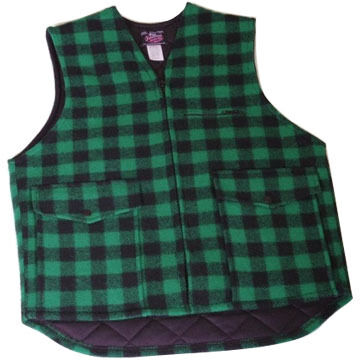 Maine Inland Fisheries and Wildlife Mens Lined Vest