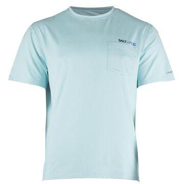 Salt Life Mens Vapor Scales Performance Short-Sleeve T-Shirt