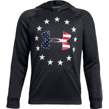 Under Armour Boys Freedom Tech Terry Hoodie