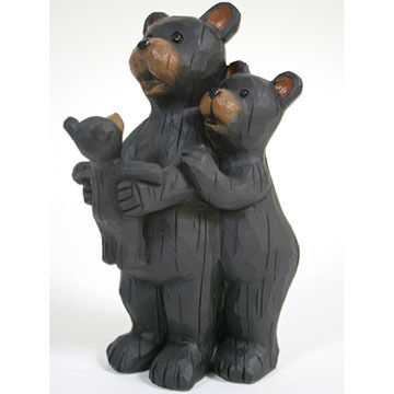 Slifka Sales Co Bear Family Figurine