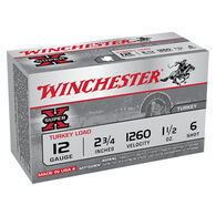 "Winchester Super-X Turkey Load 12 GA 2-3/4"" 1-1/2 oz. #6 Shotshell Ammo (10)"