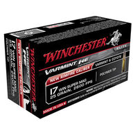 Winchester Varmint HE 17 WSM 25 Grain Polymer Tip Ammo (50)