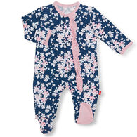Magnetic Me Infant Girl's Aberdeen Modal Magnetic Footie Pajama