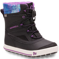 Merrell Boys' & Girls' Snowbank 2.0 Waterproof Winter Boot