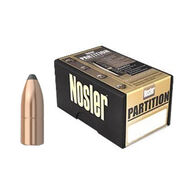 "Nosler Partition 375 Cal. 260 Grain .375"" Spitzer Point Rifle Bullet (50)"