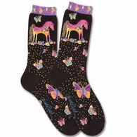 K. Bell Women's Mythical Mare Sock