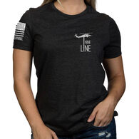 Nine Line Apparel Women's The Pledge Relaxed Fit Short-Sleeve T-Shirt