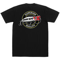 Grundens Men's Dark Seas Popper Premium Short-Sleeve T-Shirt