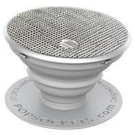 PopSockets Saffiano Silver Mobile Device PopGrip