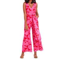Vineyard Vine Women's Tropical Floral Jumpsuit