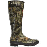 "LaCrosse Men's Mossy Oak Break-Up Country Grange 18"" Non-Insulated Rubber Boot"