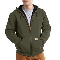 Carhartt Men's Rain Defender Rutland Thermal-Lined Hooded Zip-Front Sweatshirt