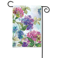 BreezeArt Hydrangeas Garden Flag