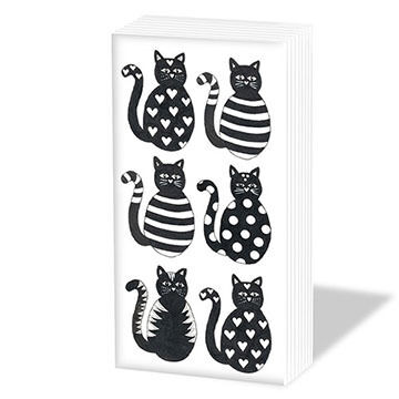 Paperproducts Design Six Cats Tissue Pack