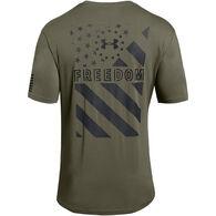 Under Armour Men's UA Freedom Express Flag Short-Sleeve T-Shirt