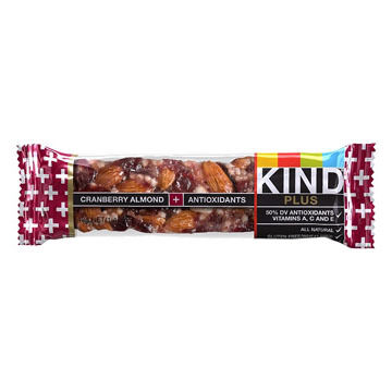 KIND Plus Cranberry Almond + Antioxidants Bar