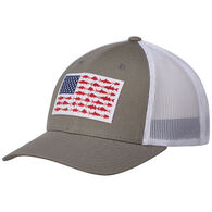 Columbia Men's PFG Mesh Snap Back Fishing Ball Cap