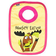 Lazy One Infant Girls' Moosey Eater Bib