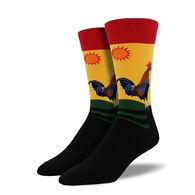 Socksmith Design Men's Early Riser Crew Sock