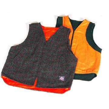 Johnson Woolen Mills Mens Reversible Vest