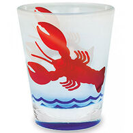 Cape Shore Maine Lobster Frosted Shot Glass