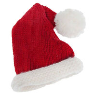 Huggalugs Boys' & Girls' Santa Red Beanie