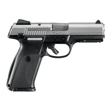Ruger SR9 9mm Matte Stainless 4.14 10-Round Pistol
