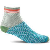 Goodhew Women's Cheery O's Quarter Sock