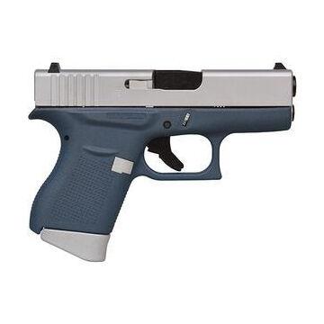 Glock 43 FS Cerakote Blue 9mm 3.4 6-Round Pistol