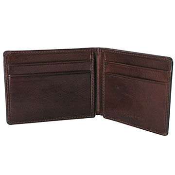 Osgoode Marley Leather 4-Pocket Ultra Mini Thinfold Wallet