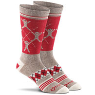 Fox River Mills Women's Monkey Argyle Lightweight Knee High Sock
